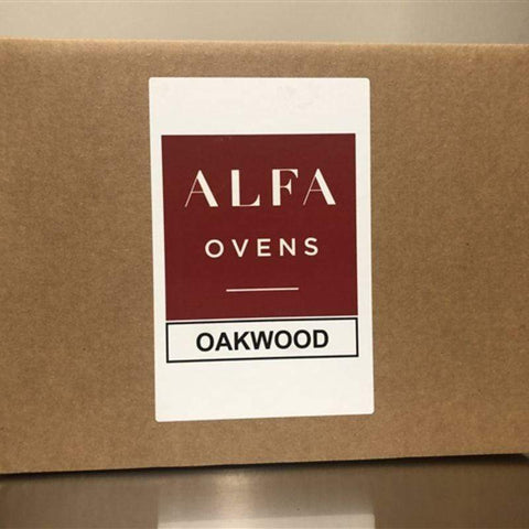 Image of Box of Oak Wood for Cooking in Wood Burning Oven