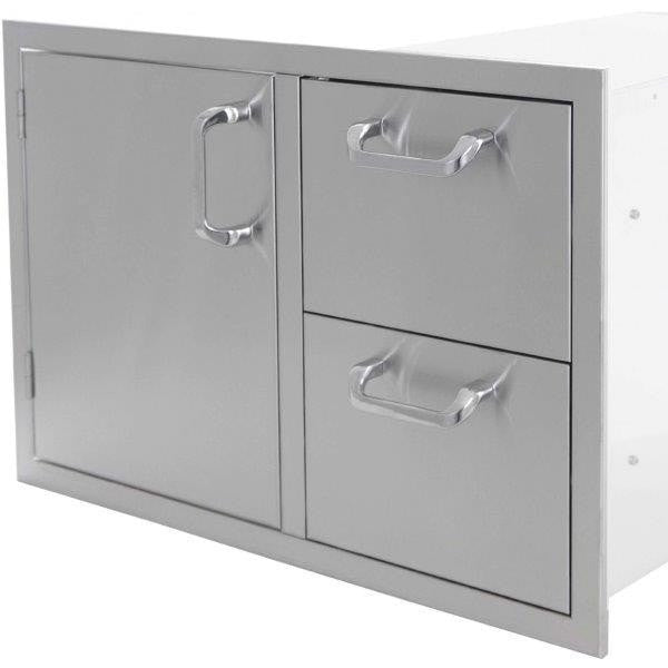 "PCM 260 Series: 30"" Door/Drawer Combo Left"