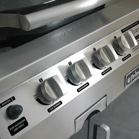 Primo Oval G420 Ceramic Gas Grill Panel