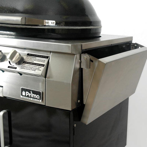 Image of Primo Oval G420 Ceramic Gas Grill Cart