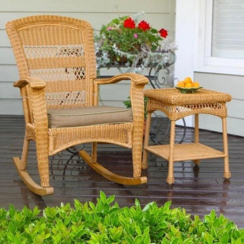 Image of Portside Plantation Rocking Chair - Amber