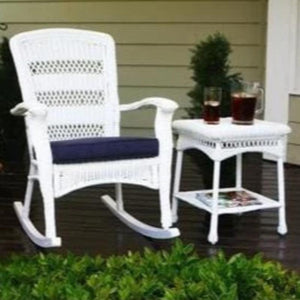 Portside Plantation Rocking Chair - White