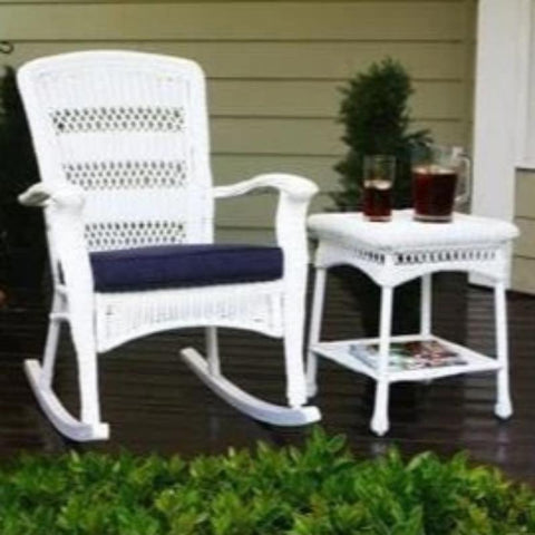 Image of Portside Plantation Rocking Chair - White