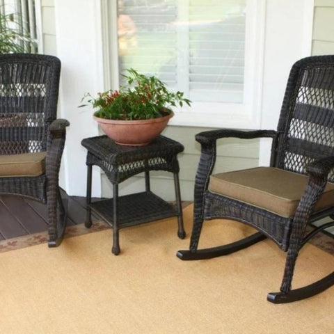 Image of Portside Plantation 3pc Rocking Chair Set