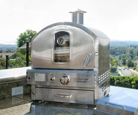Pacific Living Outdoor Counter Gas Pizza Oven PL8304SS - Patio & Pizza - 2