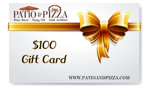Patio & Pizza $100 Gift Card