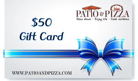 Patio & Pizza $50 Gift Card