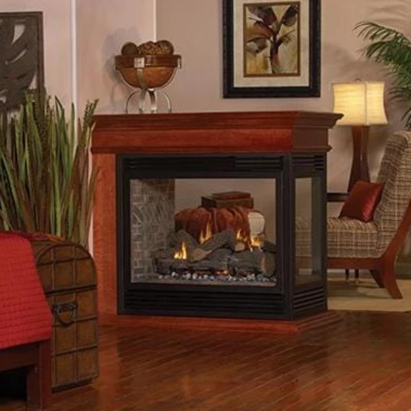 Empire Tahoe Premium Peninsula Direct-Vent Fireplaces 36""