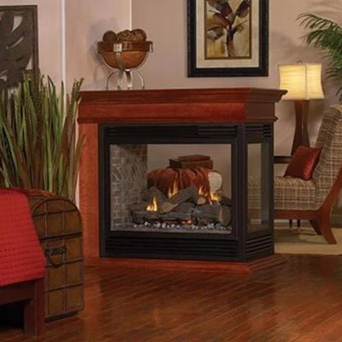 Image of Empire Tahoe Premium See-Through Direct-Vent Fireplaces 36""