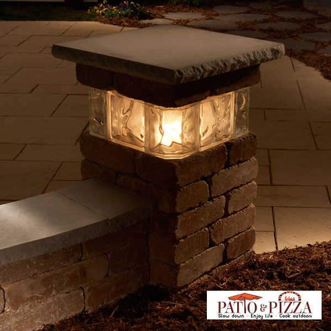 "Necessories 20"" Pillar with Glass 4201032"