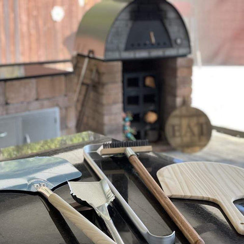 Pizza Oven Tool Kit | Wooden Pizza Peel
