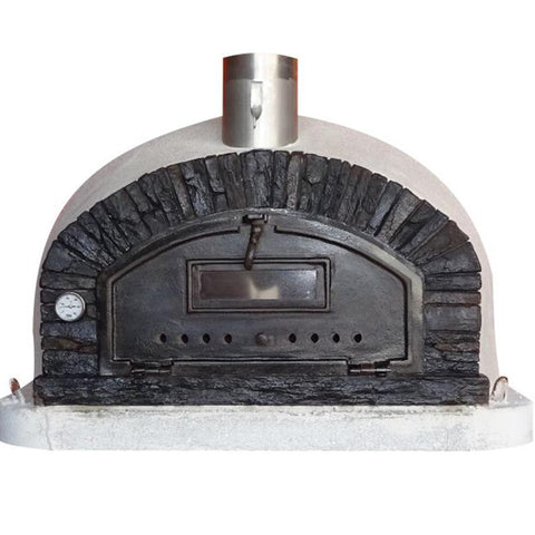Image of Brick Wood Fired Pizza Oven | Buena Ventura Black