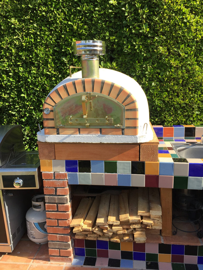 Chimney With Cap Stainless Steel Authentic Pizza Ovens