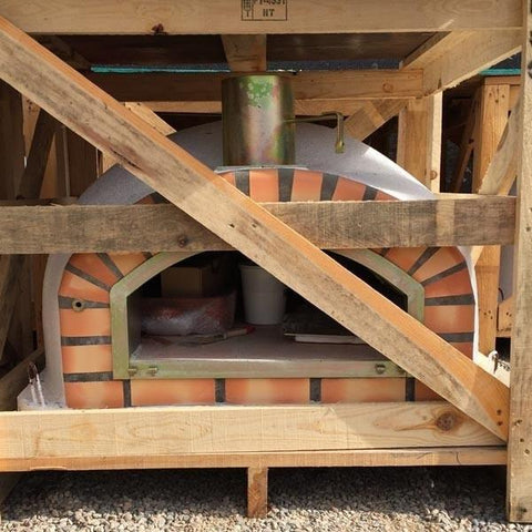 Image of Authentic Pizza Ovens Pizzaioli Brick Wood Fired Oven APOPIZZ - Patio & Pizza - 5