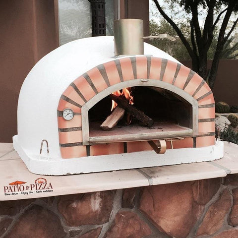 Image of Authentic Pizza Ovens Pizzaioli Brick Wood Fired Oven