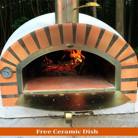Pizzaioli Traditional Brick Wood Fired Pizza Oven