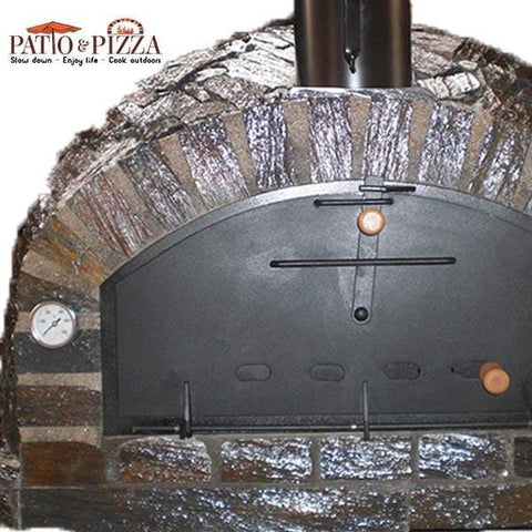 Pizzaioli Brick Pizza Oven with Stone Finish