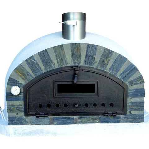 Image of Pizzaioli the Best Wood Fired Pizza Oven with a stone arch