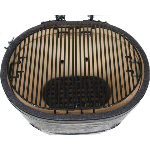 Image of Primo Oval LG 300 Ceramic Grill Open