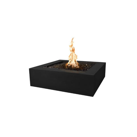 Image of Quad Concrete Fire Pit - Black