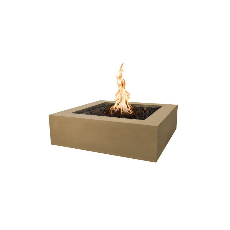 Quad Concrete Fire Pit - Brown