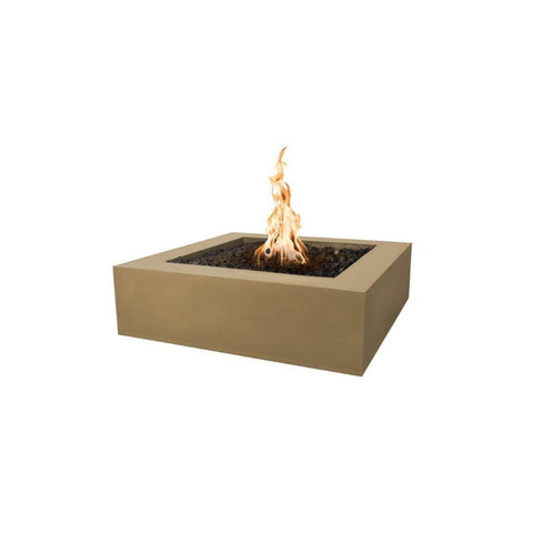 Image of Quad Concrete Fire Pit - Brown