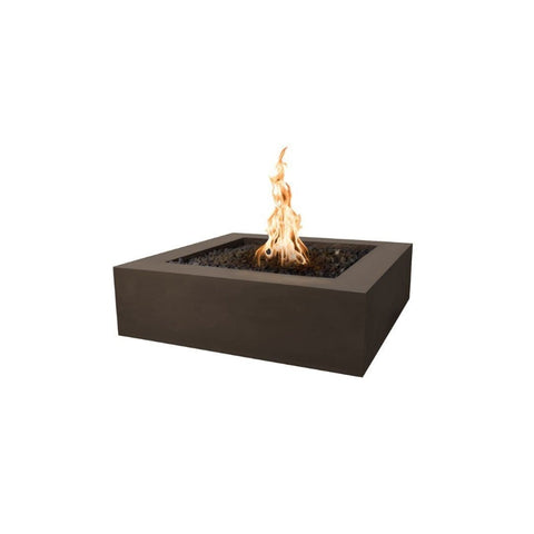 Image of Quad Concrete Fire Pit - Chocolate