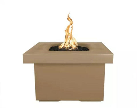 "Image of Ramona Square Firepit Table 36"" - Brown"