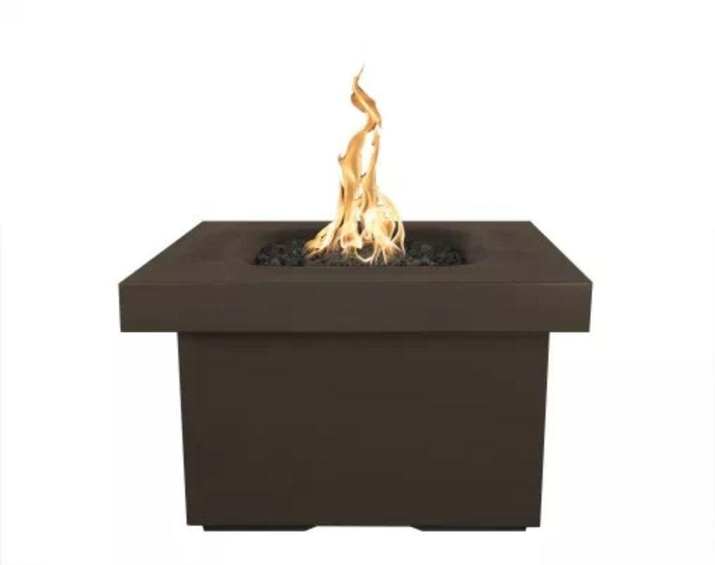"Ramona Square Firepit Table 36"" - Chocolate"