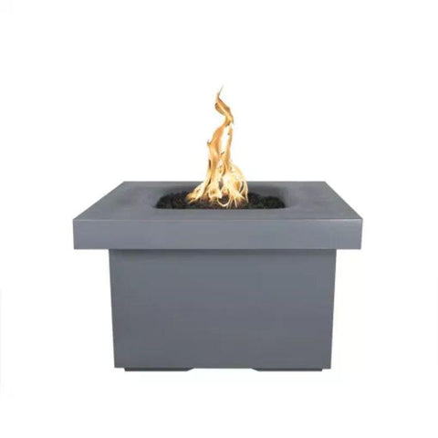 "Image of Ramona Square Firepit Table 36"" - Gray"