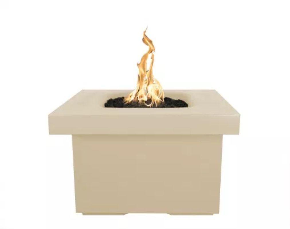 "Ramona Square Firepit Table 36"" - Vanilla"