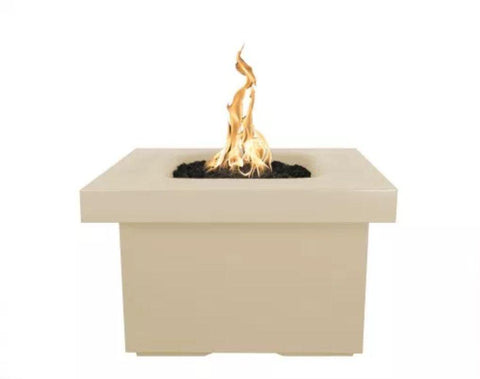 "Image of Ramona Square Firepit Table 36"" - Vanilla"