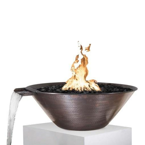 Remi Hammered Fire & Water Bowl