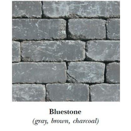 Image of Necessories Compact Fireplace Bluestone