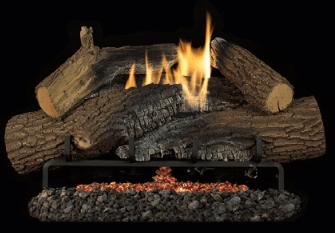 Superior Rugged Stack Vent-Free Gas Logs
