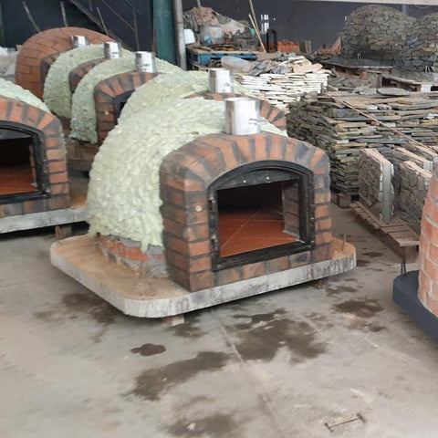 Authentic Brick Pizza Oven Insulation