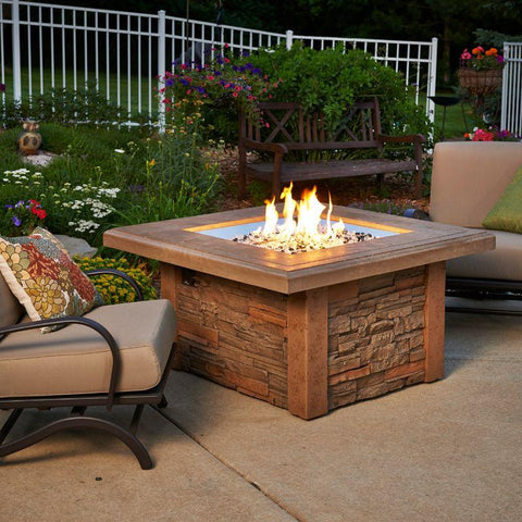 Image of Fire Pit Table | SIERRA-2424-M-K