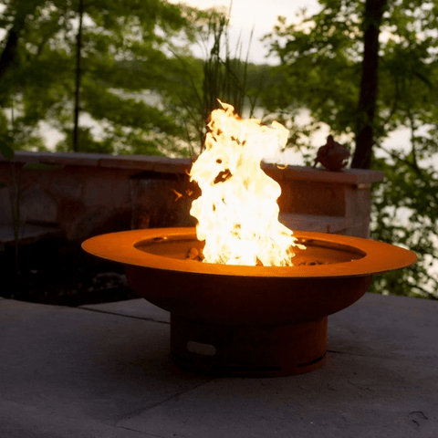 Image of Fire Pit Art- Saturn