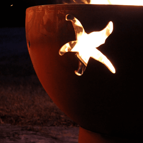 Fire Pit Art- Sea Creatures