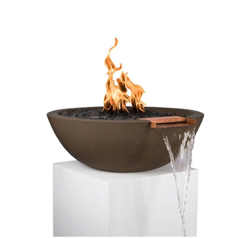 Sedona Fire & Water Bowl - Chocolate