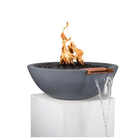 Sedona Fire & Water Bowl - Gray