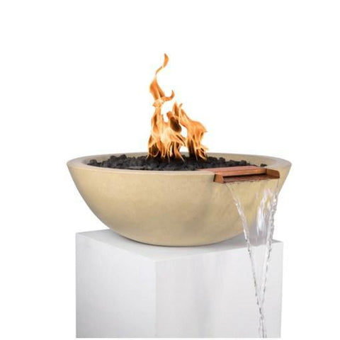 Sedona Fire & Water Bowl - Vanilla