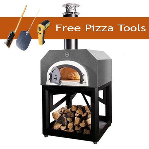 Image of Chicago Brick Oven 750 Portable Pizza Oven - Silver