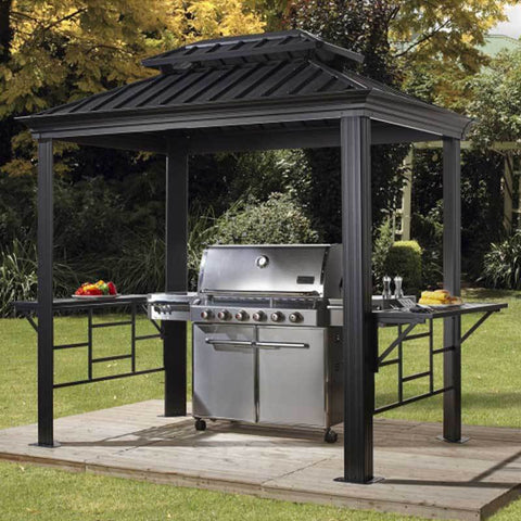 Image of Sojag 500-9162875 Messina BBQ Grill Gazebo