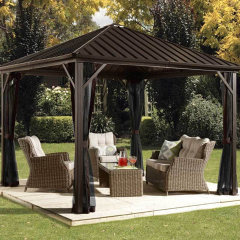 Image of Sojag 500-8162585 Dakota Hardtop Gazebo