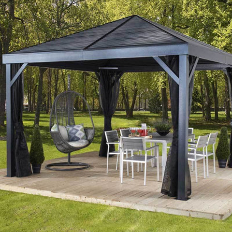 Image of Hard Top Backyard Gazebo manufactured by Sojag South Beach