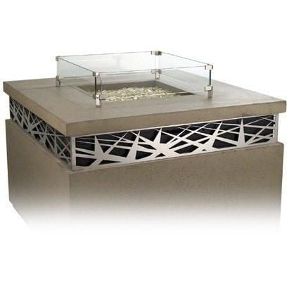 Glass Wind Guards - Fire Pit Accessories - American Fyre Designs