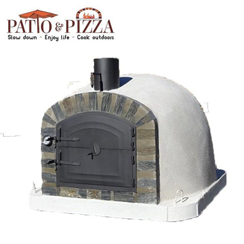 Lisboa Pizza Oven with Stone Face | Patio & Pizza