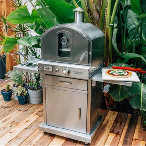 Summerset Outdoor Gas Pizza Oven On Cart SS-OVFS