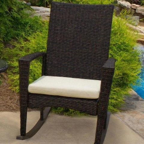 Bayview Rocking Chair By Tortuga Outdoor Great Room - Driftwood